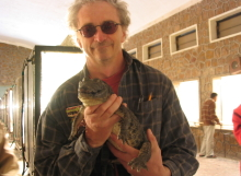 Cairo-Zoo-Gary-and-Crocodile