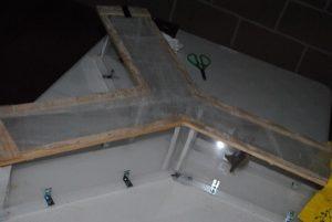El laberinto utilizado en los experimentos